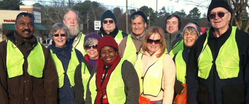 MIC Volunteers to Pick Up Trash on Floyd Road