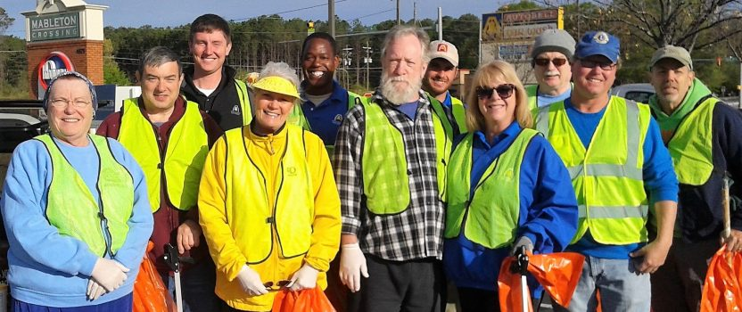 Adopt A Mile Trash Pick-up on Old Powder Springs Road
