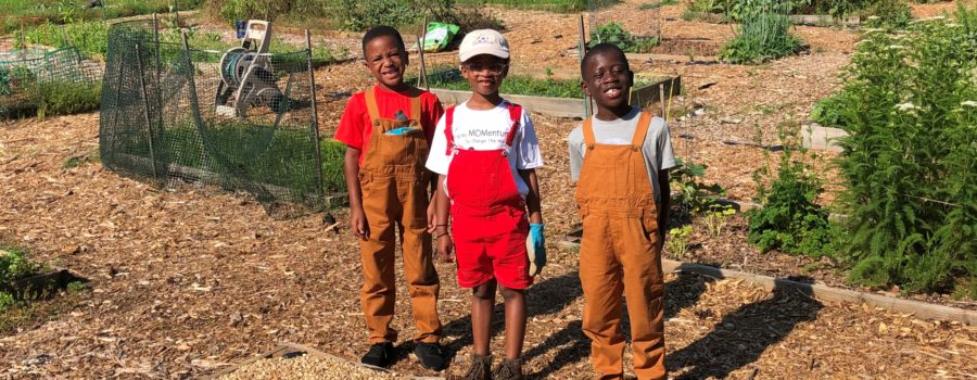 Urban AgriKids at the Historic Mableton Community Garden